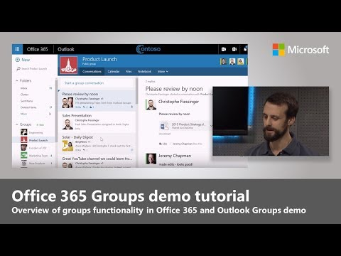 Office 365 Groups: Quick tour of new user and admin experiences