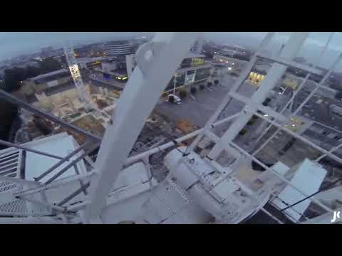 Climbing A Crane For The Ultimate Selfie   James Kingston