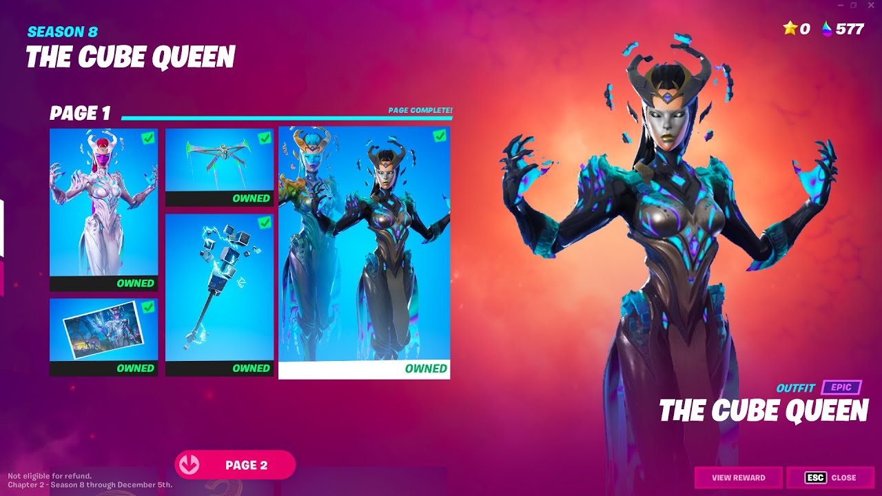 Download CUBE QUEEN Has Arrived! (Fortnite)