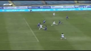 هدف الرائد الثاني ضد الهلال في الجولة السادسة من دوري عبداللطيف جميل