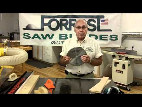 Forrest Saw Blade Products-Presented by Woodcraft