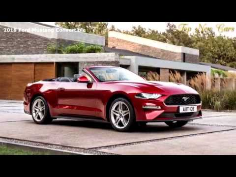 New Ford Mustang Convertible 2018
