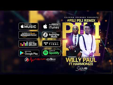 Willy Paul ft Harmonize - Pili Pili Remix (Official Audio)
