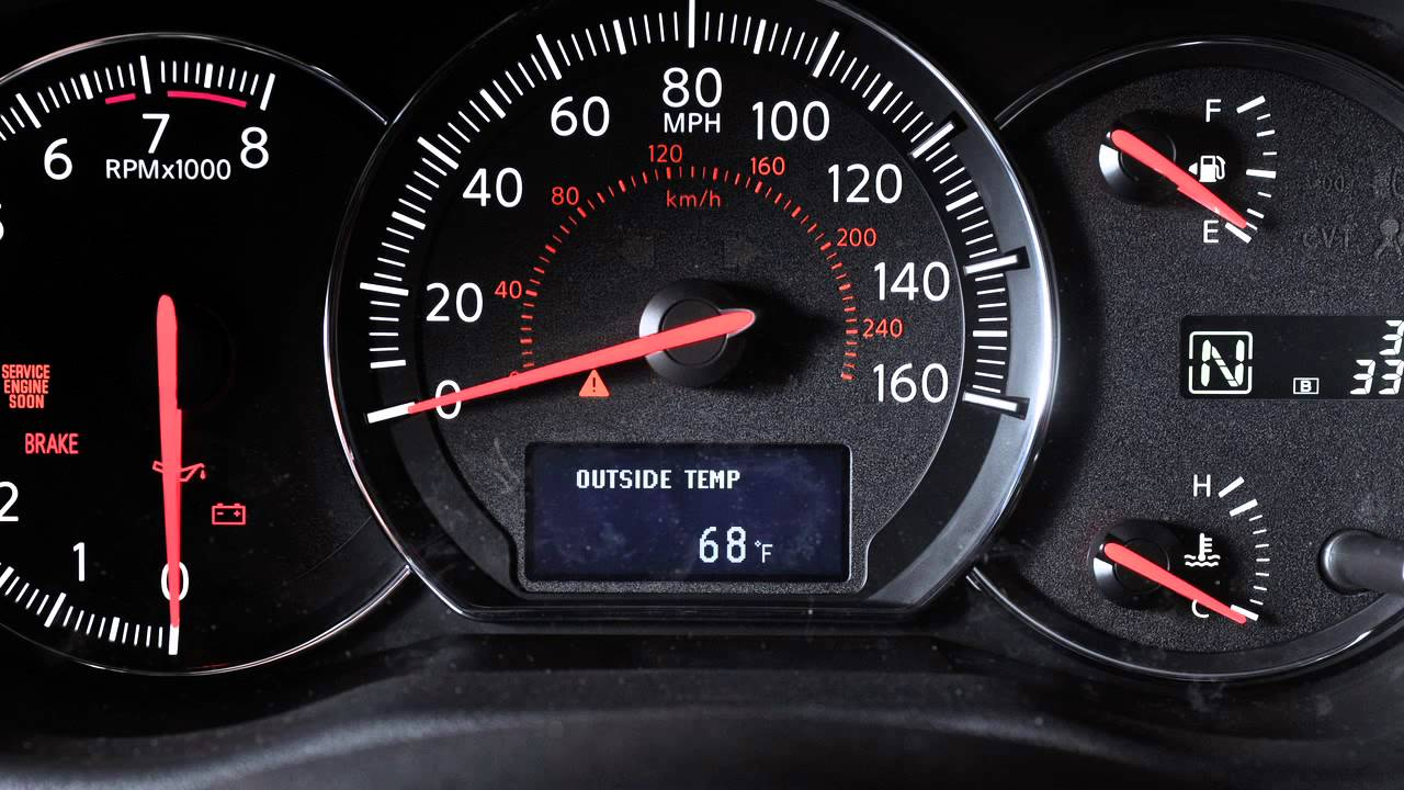 small resolution of 2012 nissan maxima instrument brightness control and trip odometer