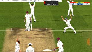 Day 5 - 2nd Test - India vs West Indies Match Highlights Prediction Real Cricket 19 Expert mode