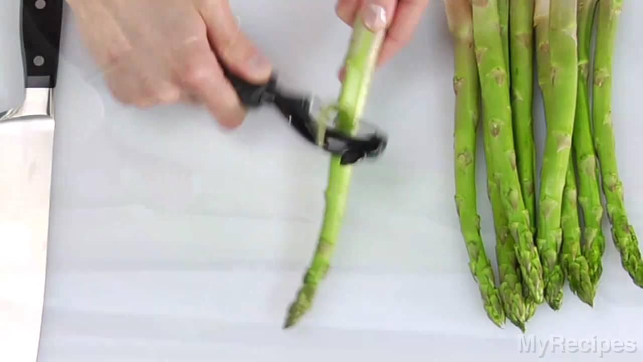 How To Trim Asparagus
