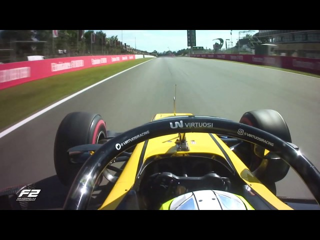 Luca Ghiotto's Onboard Formula 2 Pole Lap | 2019 Spanish Grand Prix