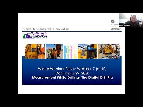 A-GaME Webinar #7: MWD: The Digital Drill Rig