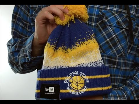8344af68136 Warriors  SPEC-BLEND  Knit Beanie Hat by New Era - YouTube