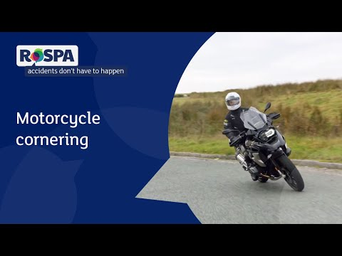 Motorcycling cornering
