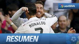 Resumen de Real Madrid (3-1) Málaga CF