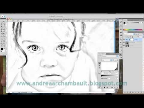 DIY Photo Coloring Book Tutorial Photoshop CS5 YouTube