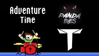 Panda Eyes Teminite Adventure Time Blind Drum Cover The8BitDrummer