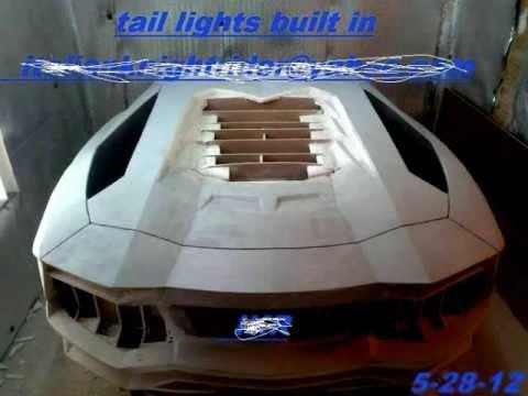 Lamborghini Aventador Replica Body Kit Youtube