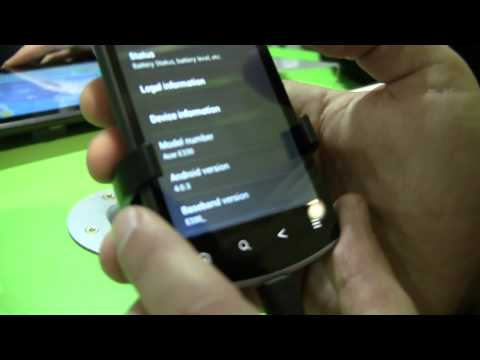 Acer Liquid Glow with Android 4.0 [MWC 2012]