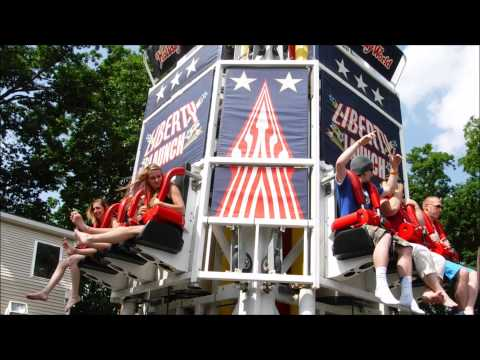 Holiday World: Liberty Launch / Off Ride POV / May 24, 2015