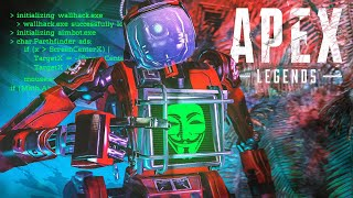 Spectating INSANE Hacker in Apex Legends... (Aimbot + Wallhacks)