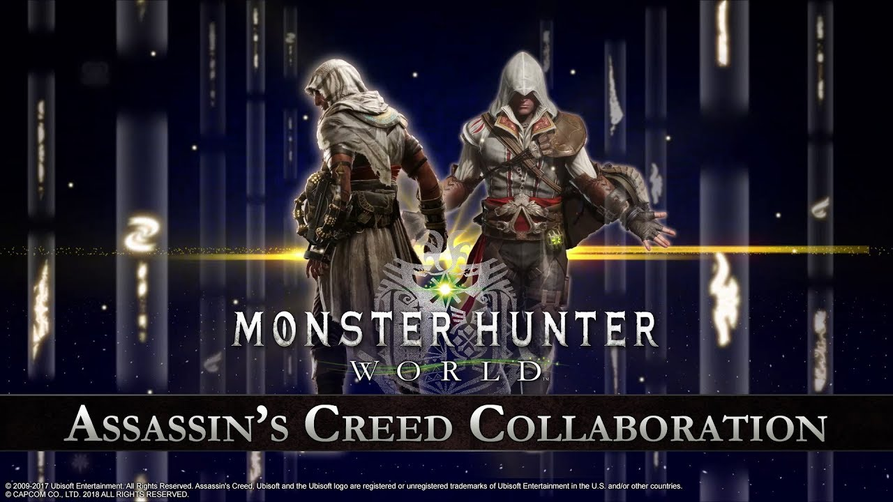 Assassin's Creed gear comes to Monster Hunter: World in new
