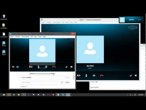 How to install Multiple Skype on Windows 8 PC
