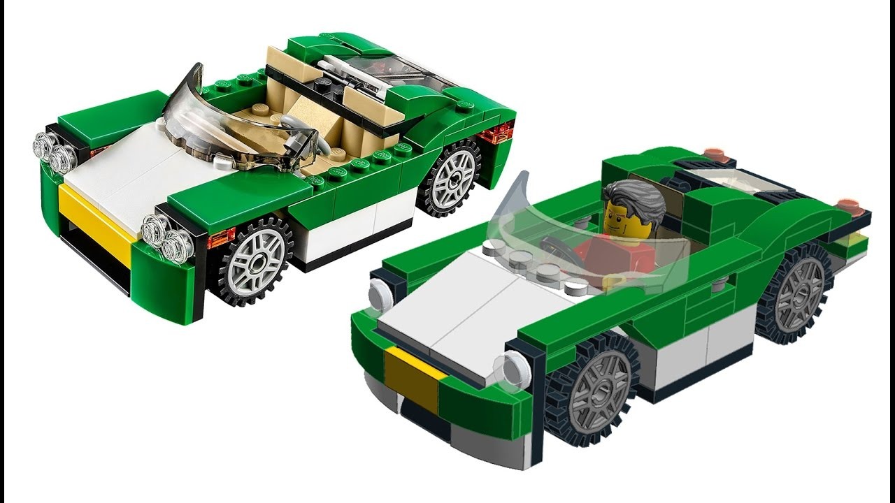 building lego city green cruiser inspired by creator 31056 set youtube. Black Bedroom Furniture Sets. Home Design Ideas