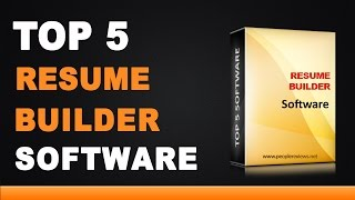 best resume builder software top 5 lis 2 years ago