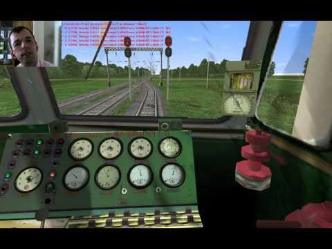 Видео Симулятор машиниста поезда онлайн