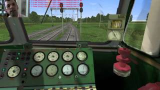 Пробный стрим Microsoft Train Simulator+RTS