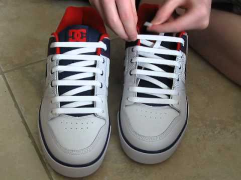 60d65c09948 How To Shoe Shop Style Lace Shoes and with No Bow - YouTube