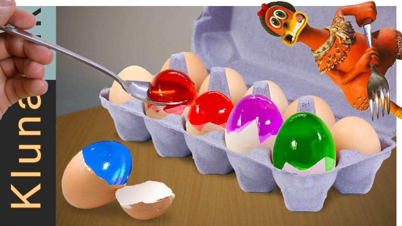 Eating Jelly Eggs ASMR MUKBANG - Kluna Tik's Fan no talking