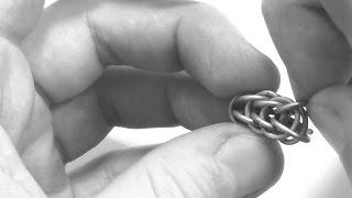 персидское плетение 6 в 1. Как сделать цепочку? Плетение из колец