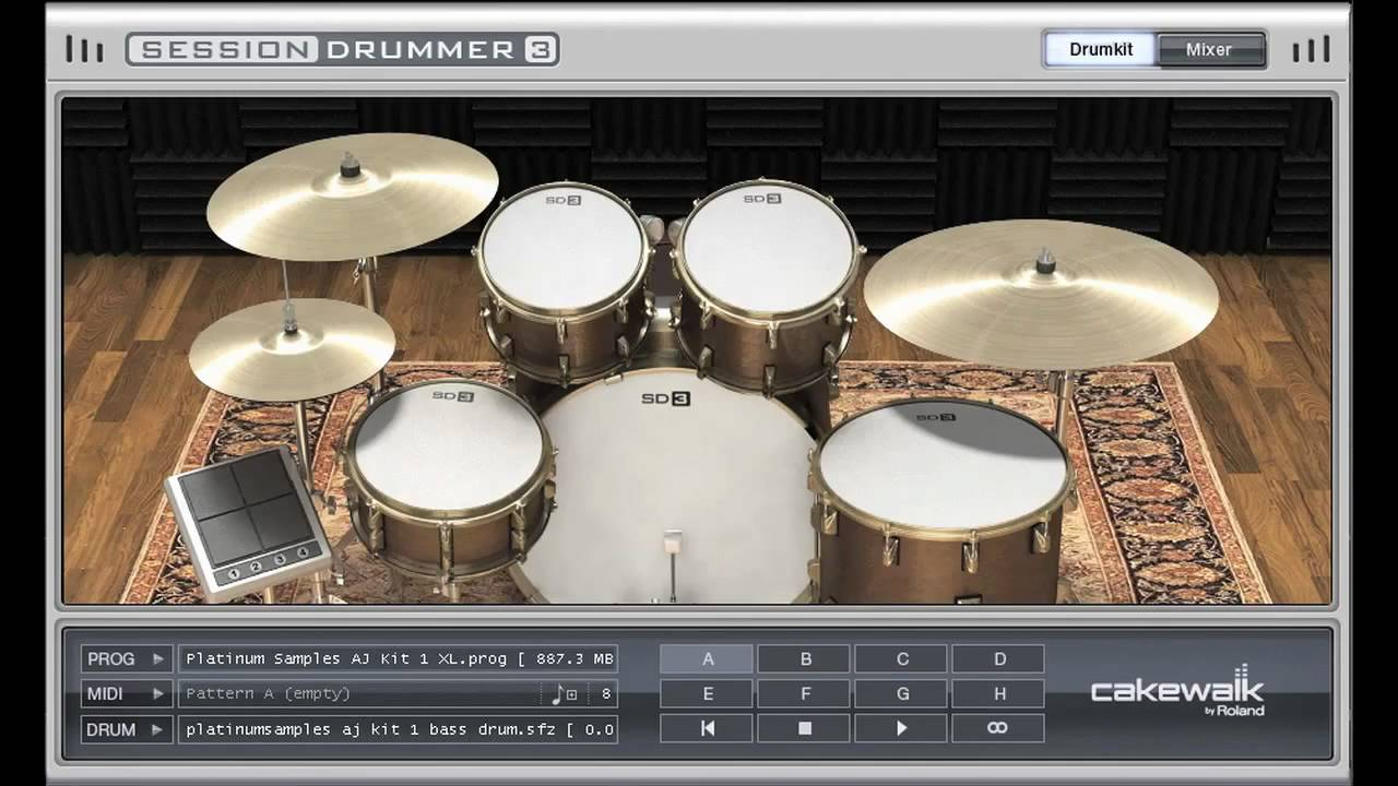Platinum Samples - Andy Johns Kit 1 for Session Drummer 3