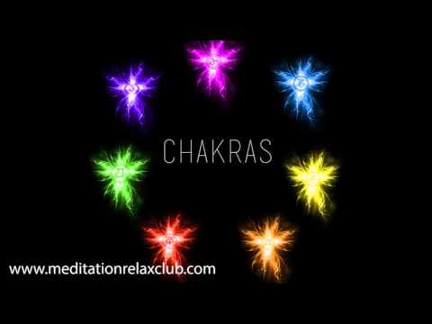 3 HOURS Healing Music for 7 Chakras in Human Body, Relaxing Songs