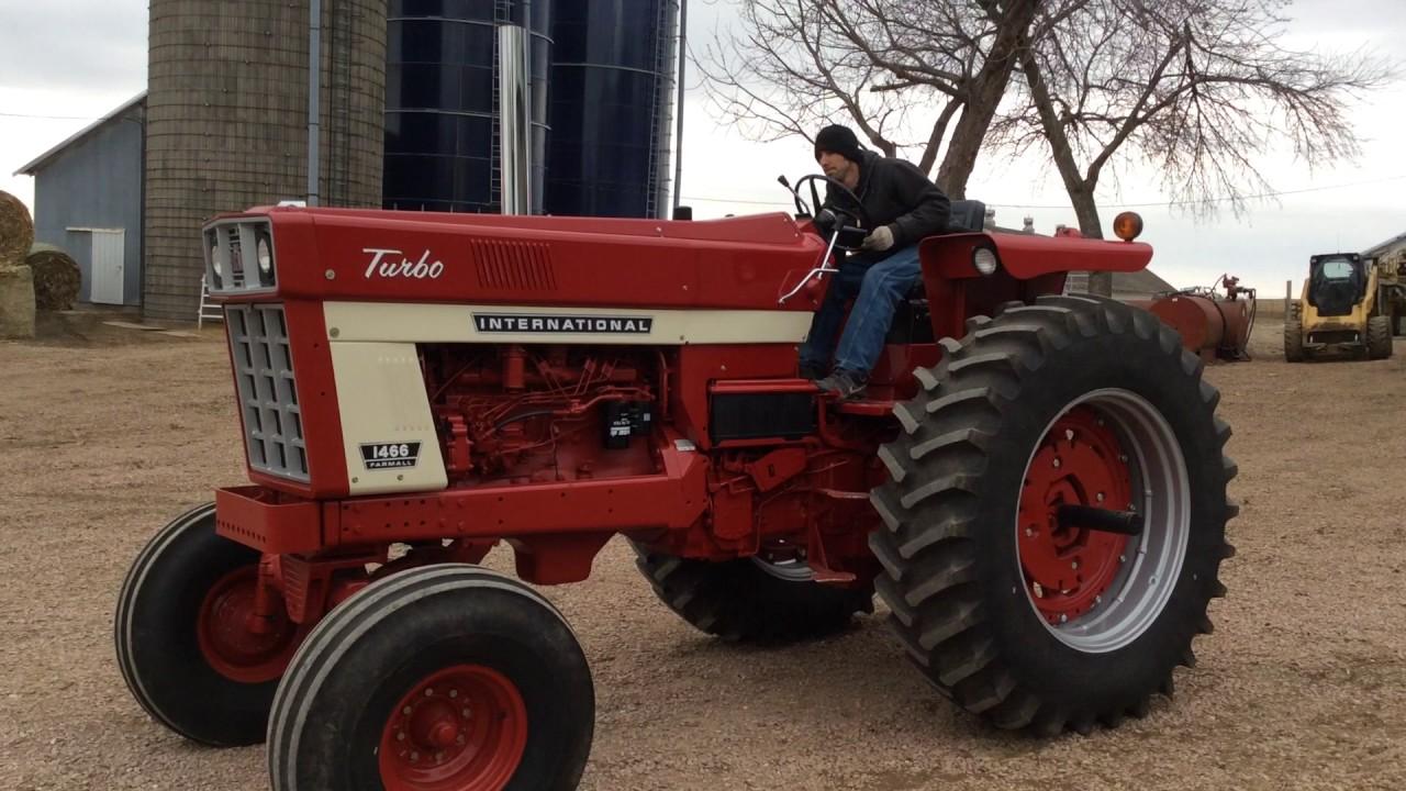 Restored Ih Tractors : Restored ih big iron auction may youtube