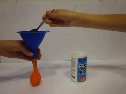 C mo inflar un globo con vinagre y bicarbonato youtube - Como limpiar la lavadora con vinagre y bicarbonato ...