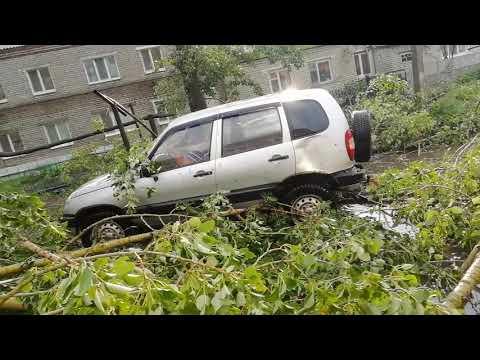 Ураган Ульяновский район 03.07.2018г. Ужасы урагана