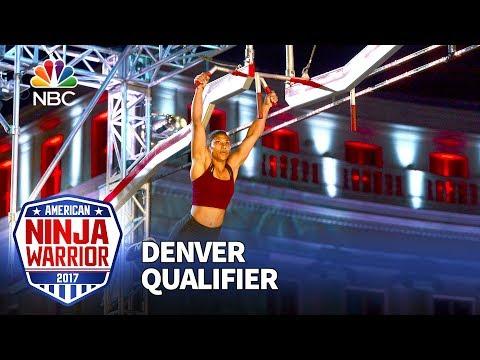 Meagan Martin at the Denver Qualifiers  American Ninja Warrior 2017
