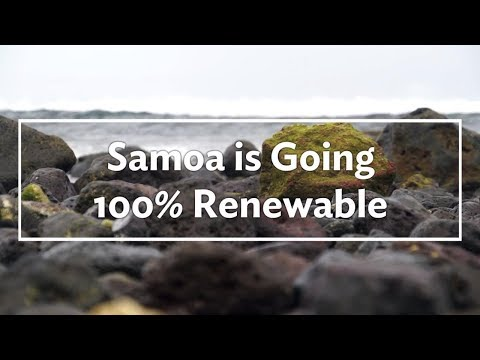 Samoa's Going 100% Renewable