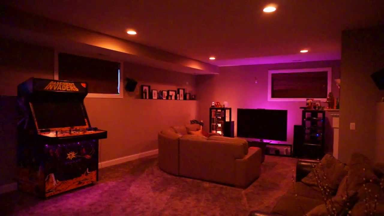Phillips Hue Lights W Goldee App Youtube