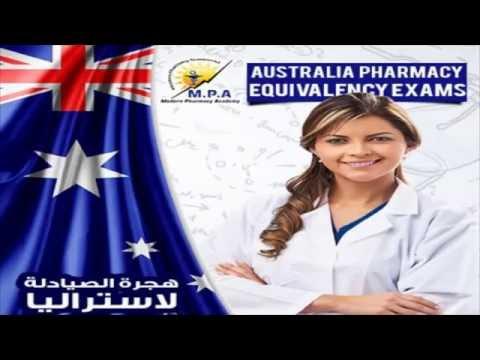 MPA Australian Pharmacy Equivalency Exam Orientation