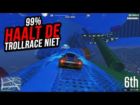 """""""99% HAALT DE TROLLRACE NIET!"""" Gta 5 online (W/subs #91)"""
