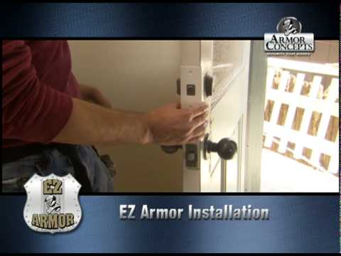 & Before You Buy Door Jamb Armor - Check our EZ Armor - YouTube