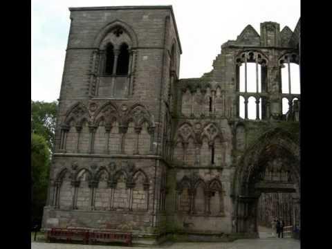 Holyrood Abbey Edinburgh Scotland