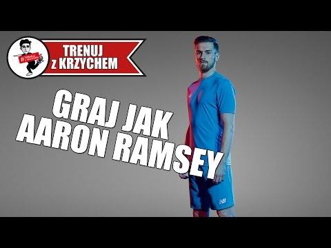 Graj jak AARON RAMSEY! #TRENUJzKRZYCHEM | odc.68