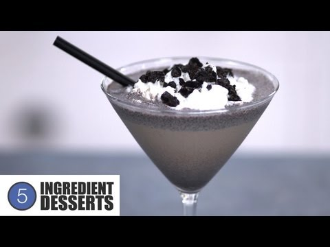 Cookies and Cream Cocktail | 5 Ingredient Desserts
