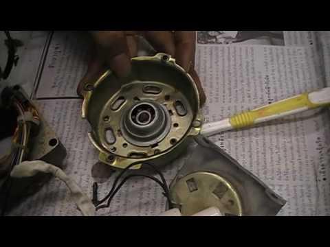วิธืการซ่อมพัดลม (ปฏิบัติ 6 ) โทโมฟิวส์+บูชหน้า - หลัง