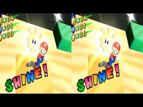 Super Mario VR 3D SUNSHINE Ep3 Bianco Secret -- Google Cardboard VR
