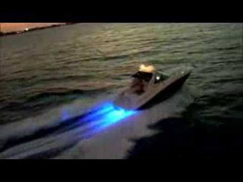 oceanled tv led underwater lights on a 33' searay sundancer - youtube, Reel Combo