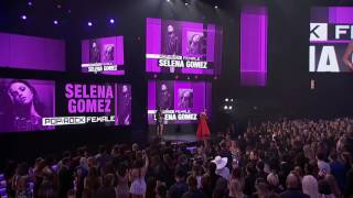 Selena Gomez Speech at the AMA's 2016.