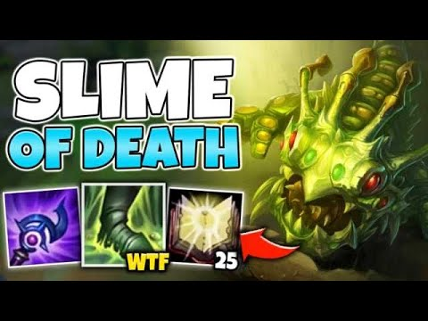 WTF?! FULL AP KOGMAW MELTS AWAY YOUR FLESH WITH ONE COMBO! (INSANE POKE) - League Of Legends