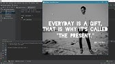 Using Tesseract-OCR to extract text from images - YouTube